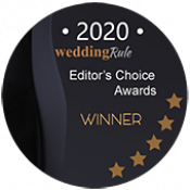 2020 weddingRule.com Editor's Choice Awards Winner